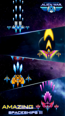 Alien War — Space Shooter v 2.1.0.3 Мод (Infinite Diamond) 3