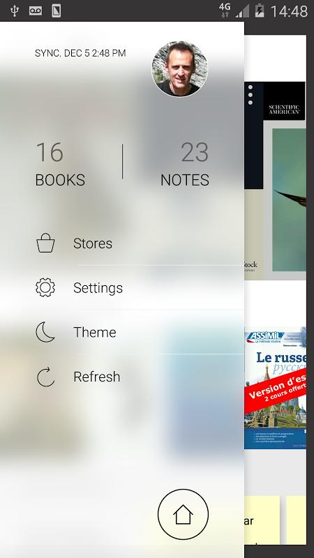 Bookari Ebook Reader Premium screenshot 1