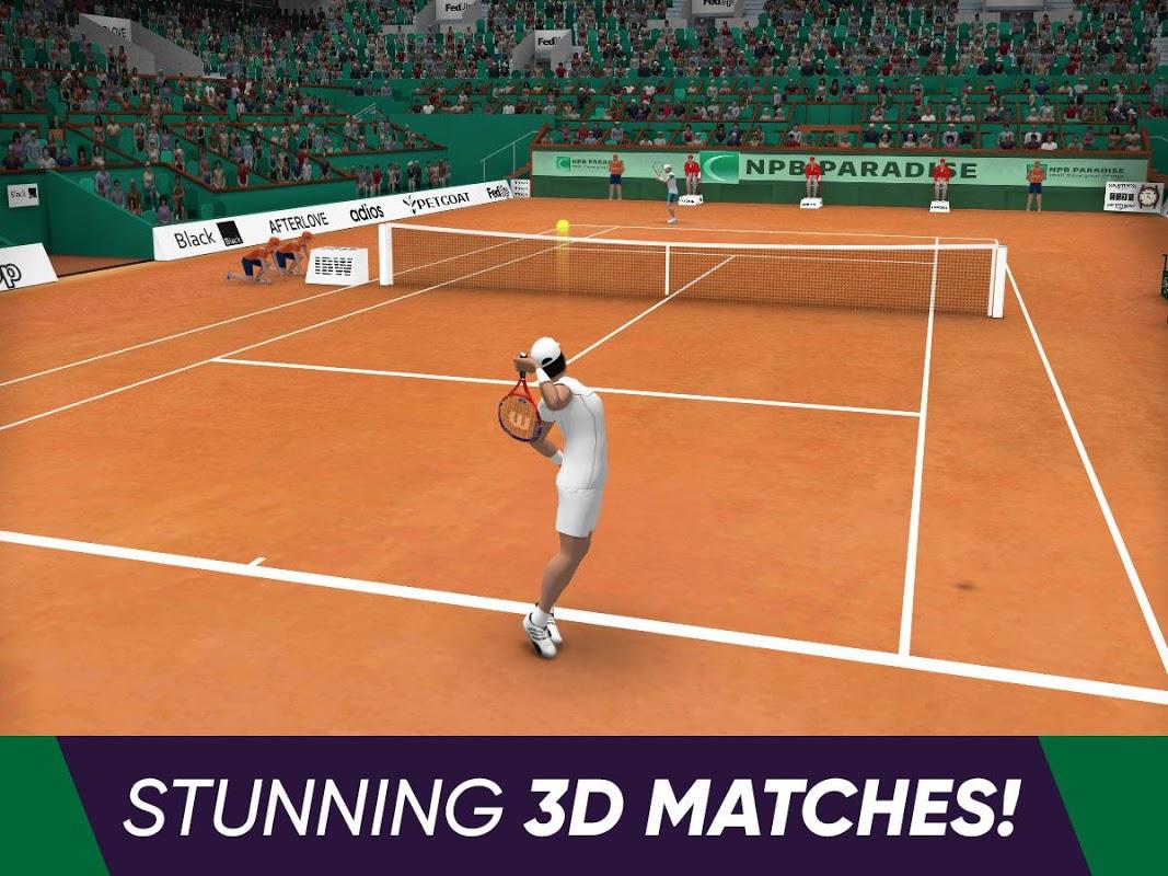 Tennis World Open 2019 screenshot 2