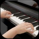 Piano Keyboard And Teacher