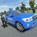 Police Land Cruiser Race