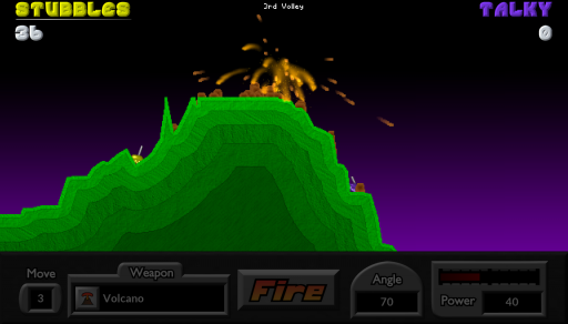 Pocket Tanks screenshot 1
