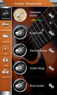 Guitar Ringtones screenshot 2