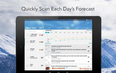 accuweather weather forecast screenshot 3