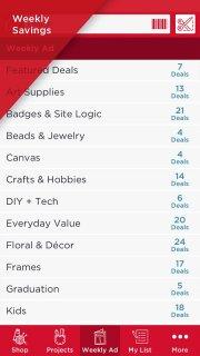 Michaels Stores screenshot 3