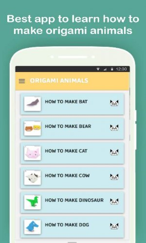 make origami animals 1.0 apk | androidappsapk.co | 500x300