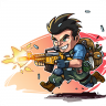 Metal Commando - Squad Metal Shooter Icon