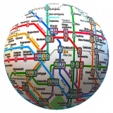 Public transport maps offline. 200+ cities Icon