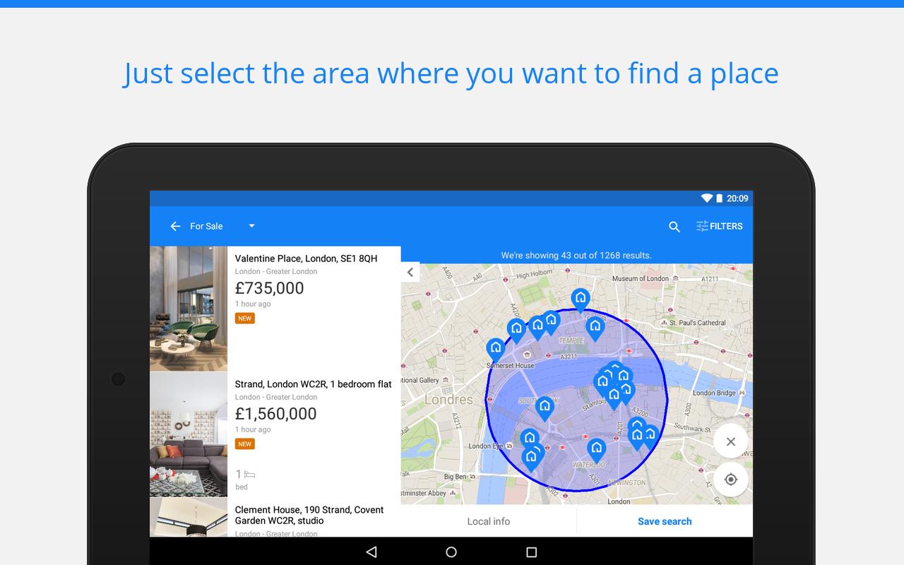Sale & rent property - Trovit screenshot 2