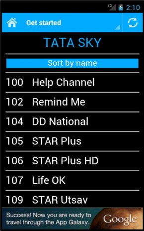 DTH Television Guide India 3 1 Download APK for Android