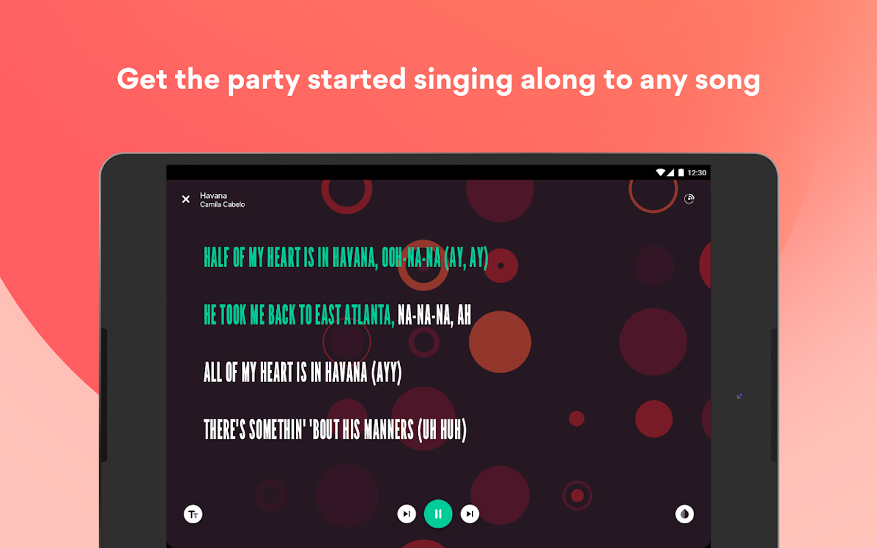 Musixmatch Lyrics screenshot 9