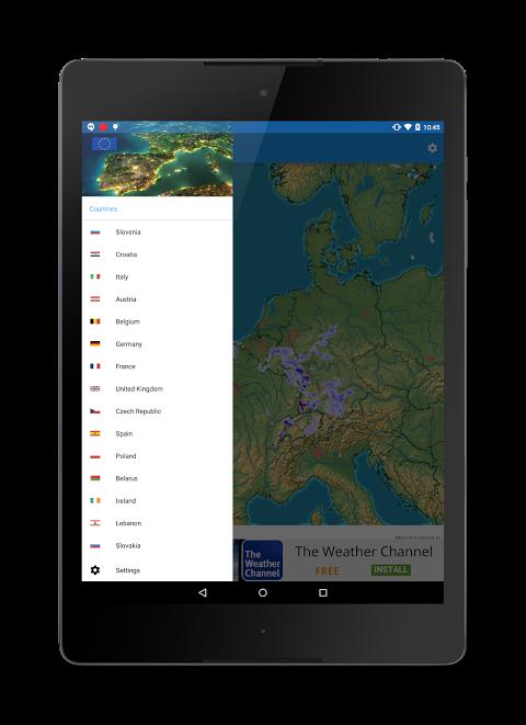 Rain Radar screenshot 1
