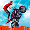 Dirt Bike Roof Top Racing Motocross ATV race games
