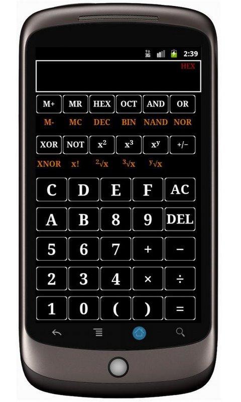 TechCalc (adfree) Screenshot