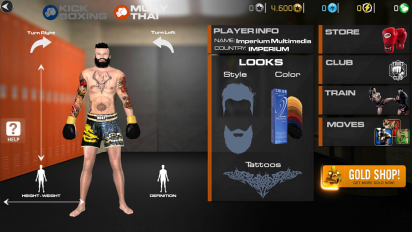 Muay Thai 2 — Fighting Clash (обновлено v 1.01) (Mod Money) 2