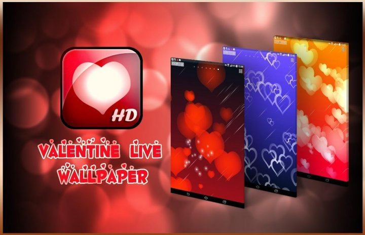 valentine magic touch live screenshot 1 - Live Valentine Wallpaper