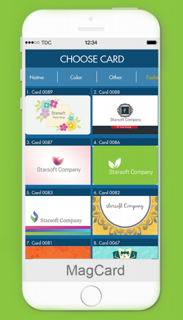 MagCards: Business Card Design : Download APK for Android ...