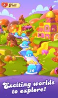 Candy Crush Friends Saga Screen