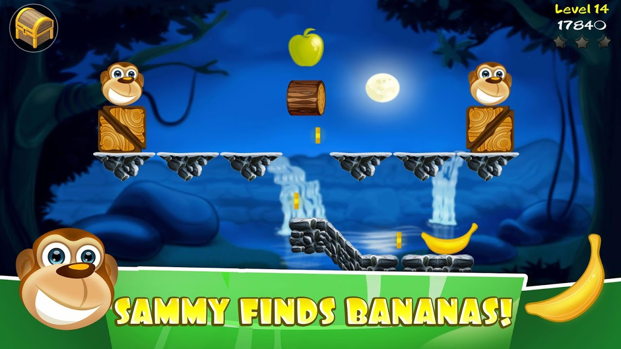 Banny Sammy - Super Cute Food Animal Puzzle screenshot 1