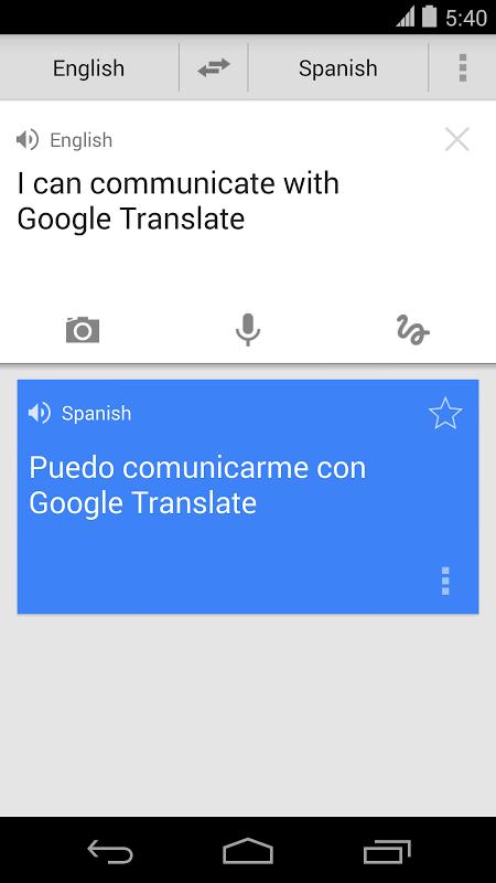 Google Tradutor screenshot 1