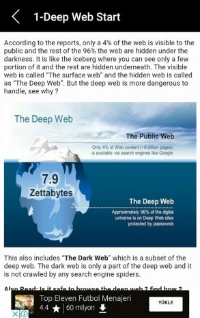 deep web 3 4 5 1 55 Download APK for Android - Aptoide