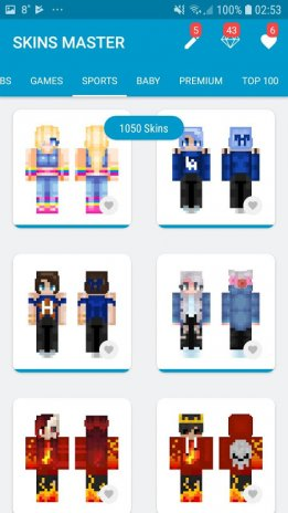 Skins MASTER For Minecraft PE Download APK For Android Aptoide - Skins para minecraft pe tablet