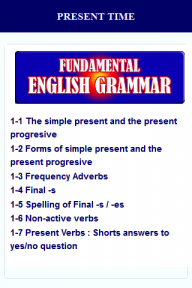 English Grammar screenshot 8