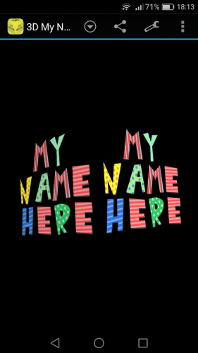 3d My Name Funny Wallpaper 1 85 Download Android Apk Aptoide