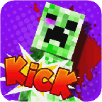Kick the Minecraft Creeper