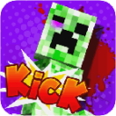 Kick the Minecraft Creeper