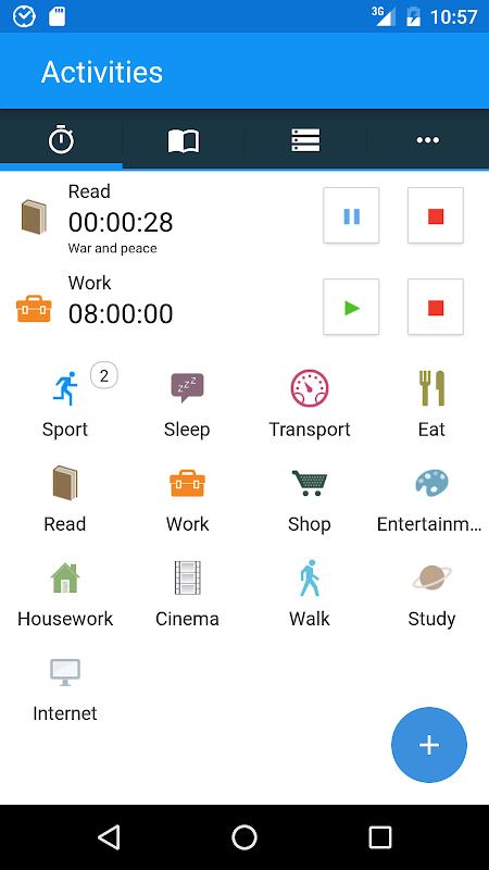 aTimeLogger - Time Tracker screenshot 1