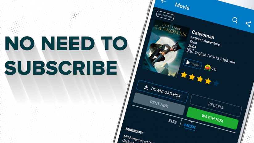 Vudu - Rent, Buy or Watch Movies with No Fee! 6 0 r028 156279293