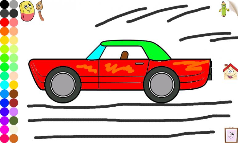 Kendaraan Dan Mobil Mewarnai 107 Unduh Apk Untuk Android Aptoide