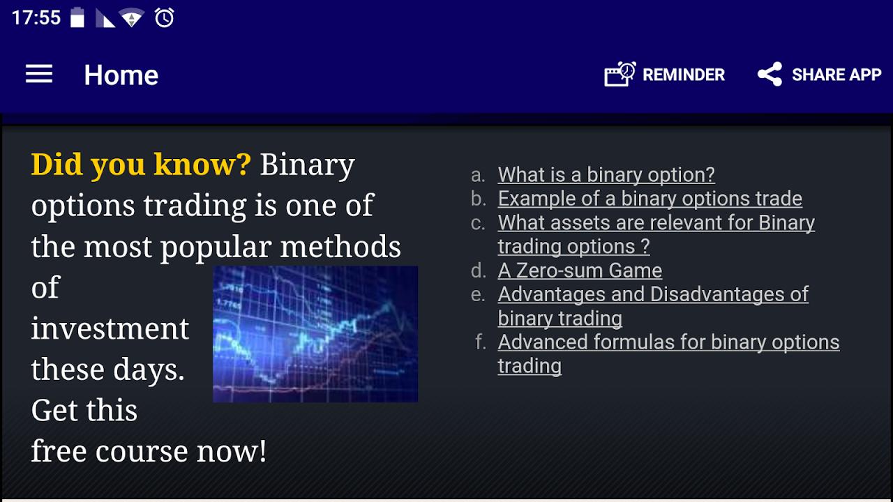 The binary options deposit bonus november 2014