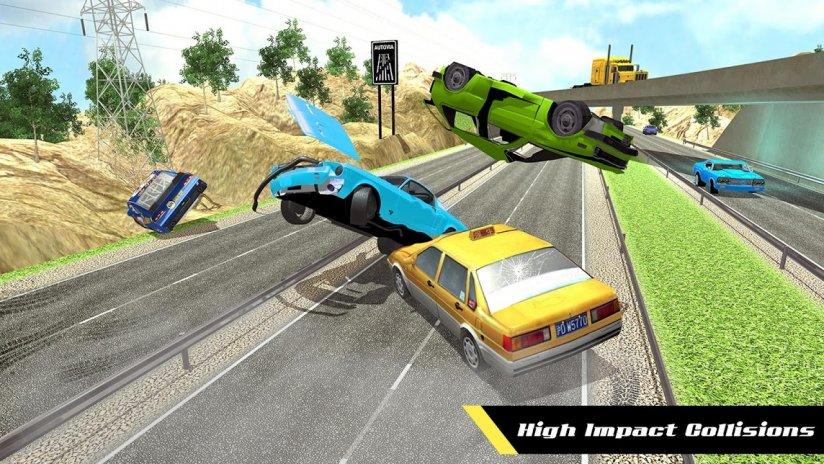 Realistischer Autounfall-Simulator: Strahlschade 1.0 Laden Sie APK ...