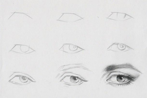 How To Draw Eyes Step By Step Tower Dlugopisyreklamowe Co