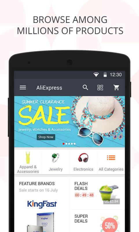 AliExpress Shopping App screenshot 1