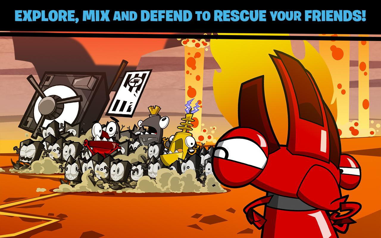 calling all mixels games free online