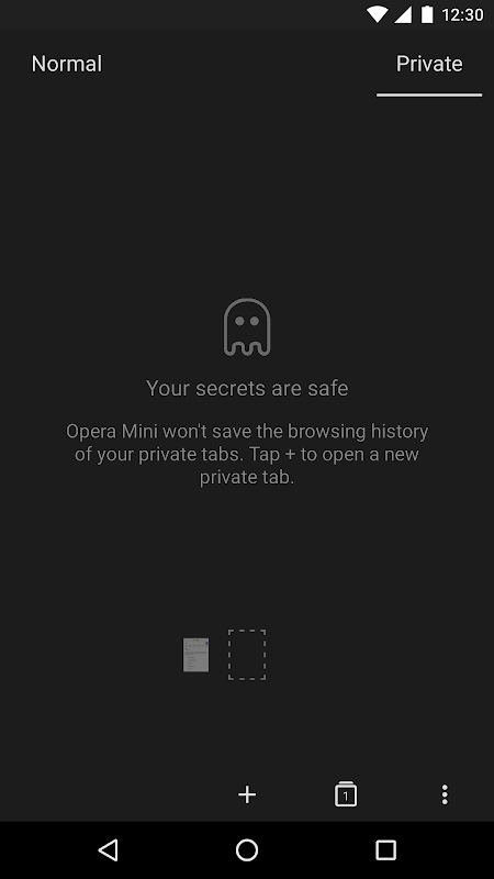 Opera Mini - fast web browser screenshot 5