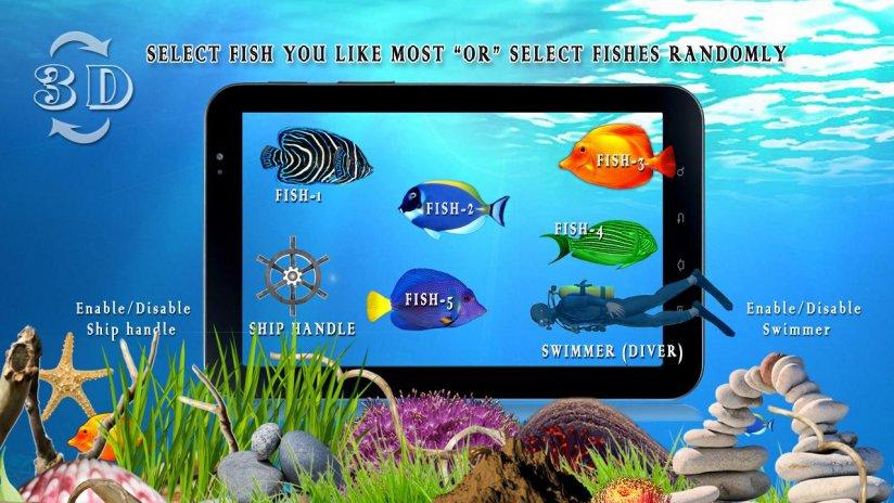 Ocean Fish Live Wallpaper Hd Screenshot 1