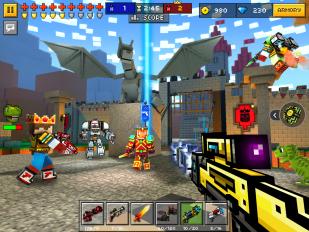 pixel gun 3d pocket edition screenshot 9