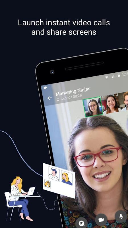 Flock - Team Chat & Collaboration App screenshot 2