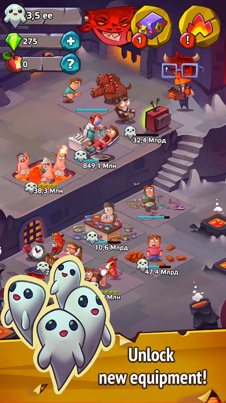 Idle Evil Clicker screenshot 2