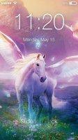 Unicorn Fantaisie Screen Lock Screen