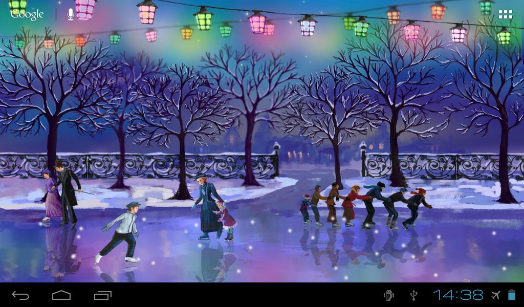 Citaten Winter Apk : Christmas rink live wallpaper download apk for android