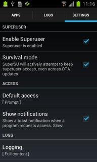 SuperSU Pro screenshot 11