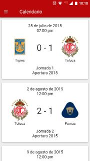 Deportivo Toluca FC screenshot 4