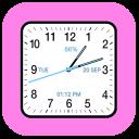 Analog Clock Square Classic