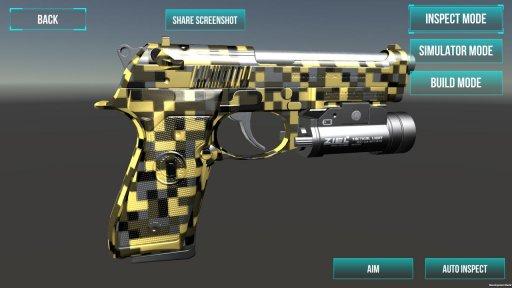 3D Ultimate Gun Simulator Builder screenshot 23