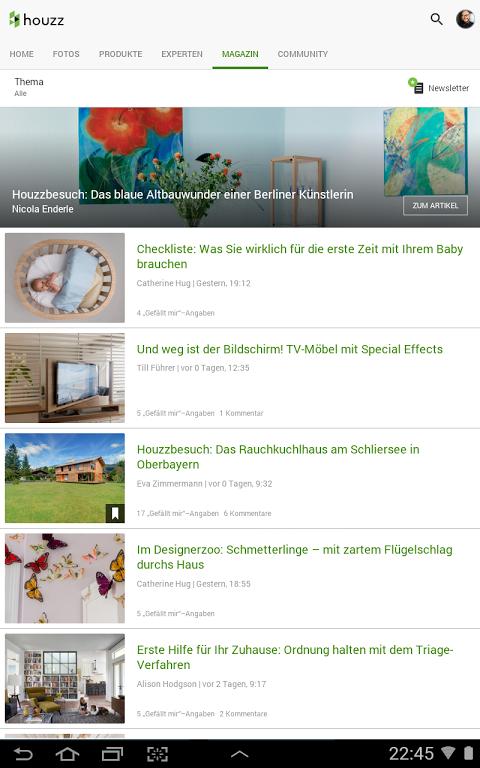 ... Houzz Wohnideen Architektur Interior Design Screenshot 12 ...